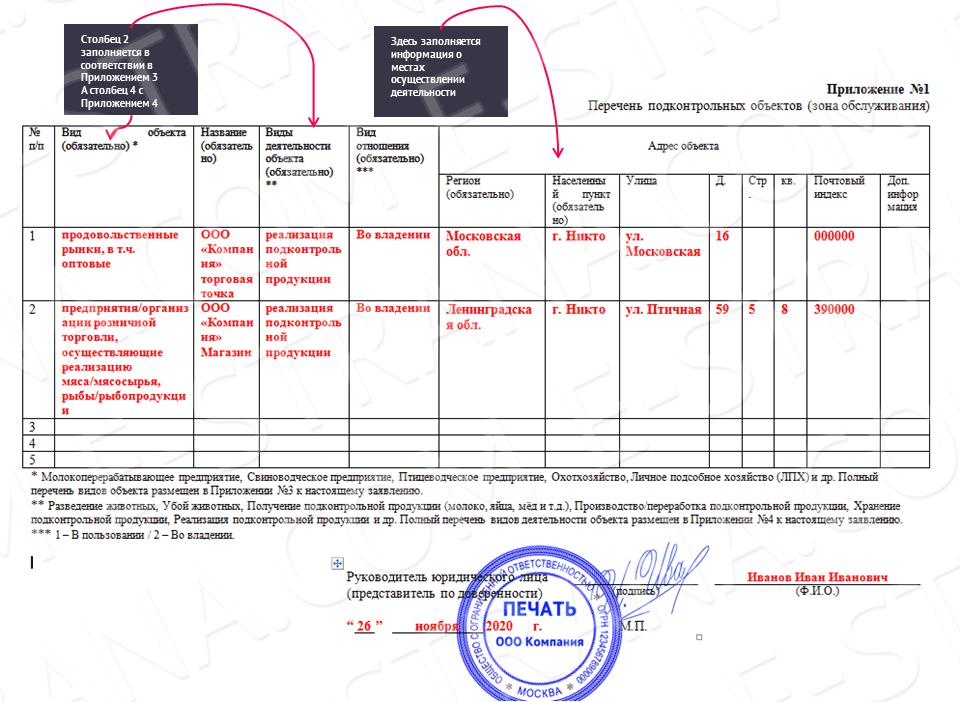 меркурий регистрация образец заявления юр лицо